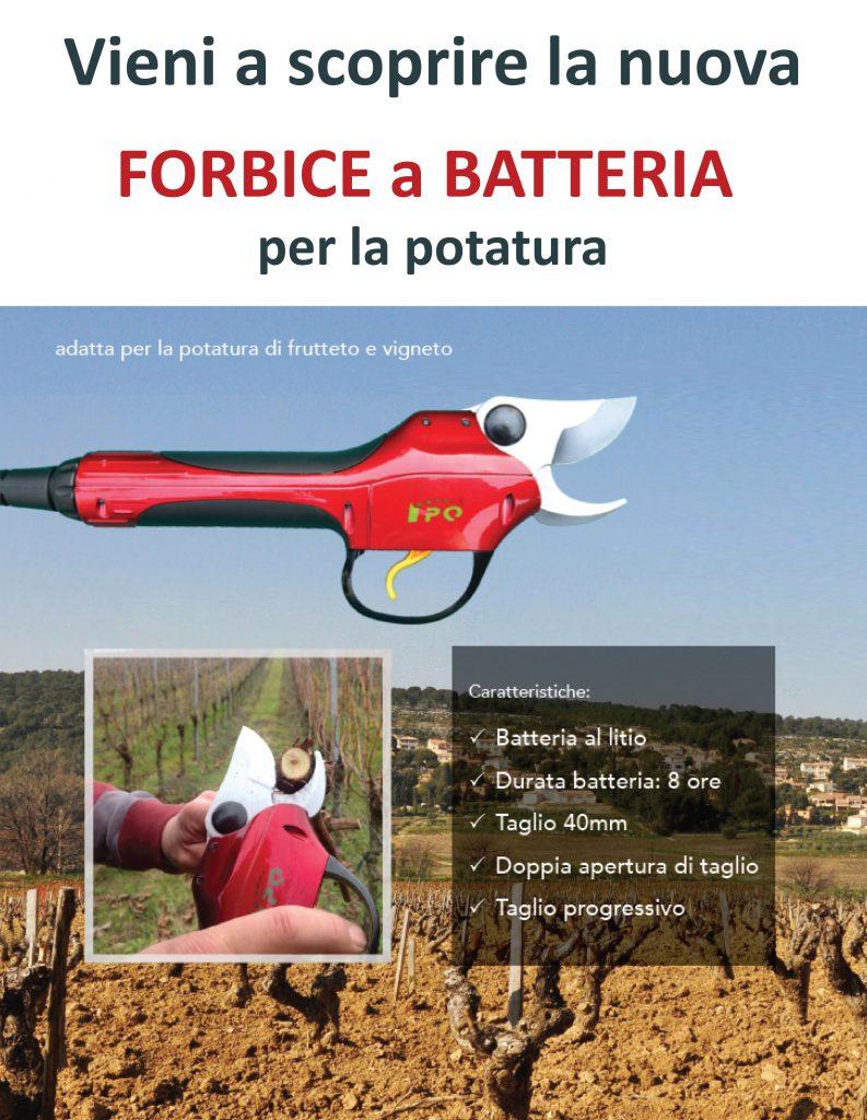 FORBICE a BATTERIA