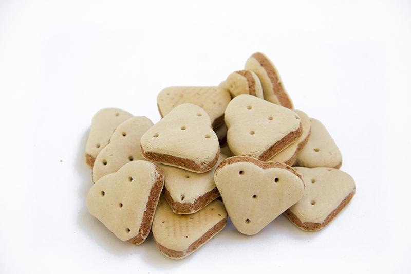 biscotti cuore per cane